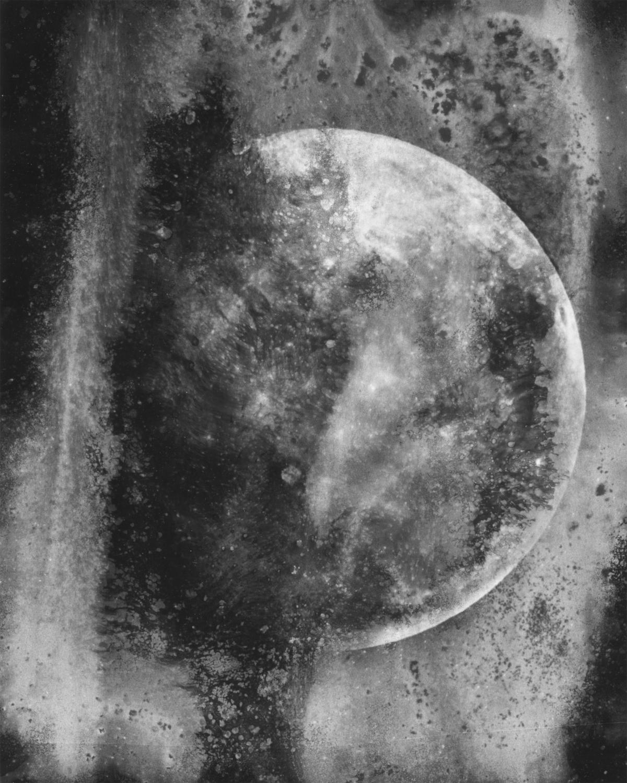 Moon through a dirty window, II
