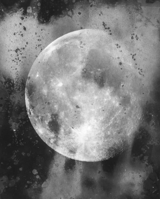 Moon through a dirty window, III